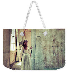 Lady In An Old Abandoned House Weekender Tote Bag