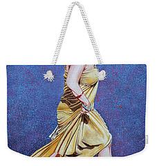 Lady In Hurry Weekender Tote Bag