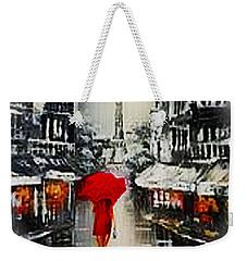 Lady In Paris Weekender Tote Bag