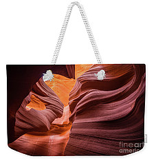 Lady In The Wind Weekender Tote Bag by JR Photography