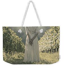 Lady In Vineyard Weekender Tote Bag
