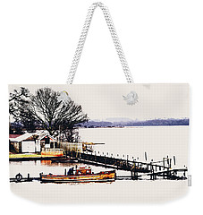 Weekender Tote Bag featuring the photograph Lady Jean by Jeremy Lavender Photography