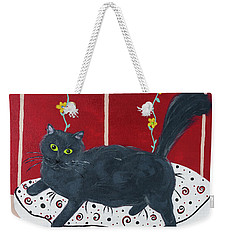 Lady Kitty Weekender Tote Bag