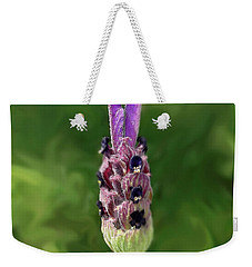 Lady Lavender Weekender Tote Bag