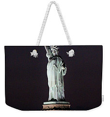 Lady Liberty Weekender Tote Bag by Karen Silvestri