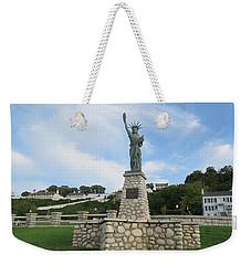 Lady Liberty On Mackinac Island Weekender Tote Bag
