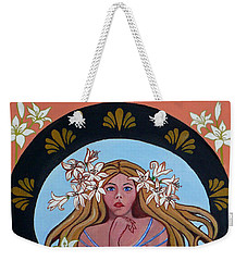 Lady Of The Lilly's  Weekender Tote Bag by Susan Duda