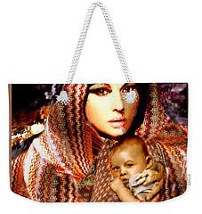 Lady Madonna Weekender Tote Bag