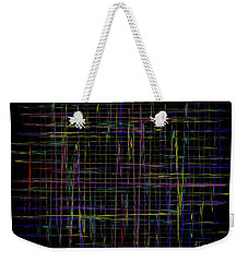 Lady Midnight Tonight Will Be Fine Weekender Tote Bag by Danica Radman