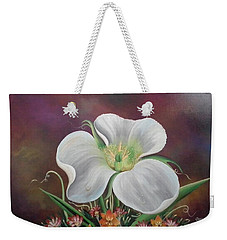 Lady Moon Weekender Tote Bag