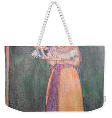 Lady Of The Court Weekender Tote Bag by Vikram Singh