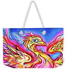 Lady Phoenix  Weekender Tote Bag
