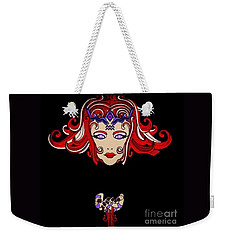 Lady Red Weekender Tote Bag