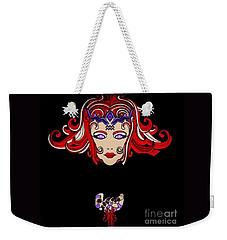 Lady Red Weekender Tote Bag