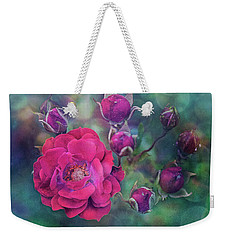 Lady Rose Weekender Tote Bag