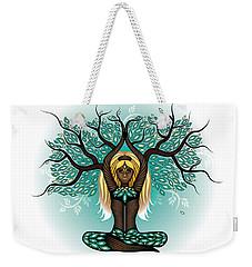 Lady Shaman Tree Weekender Tote Bag