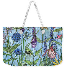 Lady Slipper In My Garden  Weekender Tote Bag
