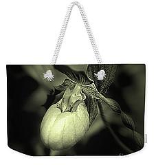 Lady Slipper Orchid Flower Weekender Tote Bag