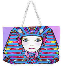 Weekender Tote Bag featuring the photograph Lady Tut #191 by Barbara Tristan