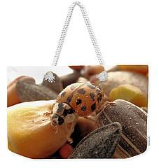 Ladybug On The Run Weekender Tote Bag