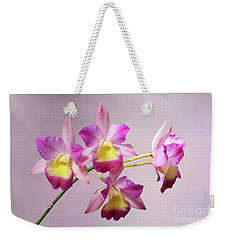 Laeliocatonia Hybrid Orchids V2 Weekender Tote Bag