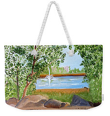 Lafarge Lake View Coquitlam B C Weekender Tote Bag