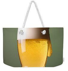 Lager Beer Weekender Tote Bag by Silvia Bruno