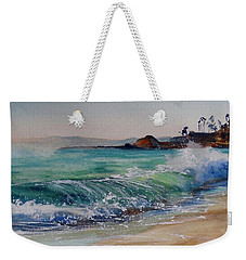 Laguna Beach North View Weekender Tote Bag by Sandra Strohschein