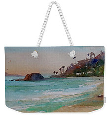 Laguna Beach Plein Air Weekender Tote Bag by Sandra Strohschein