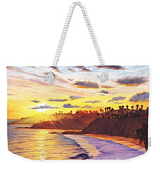 Laguna Village Sunset Weekender Tote Bag