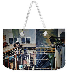 Lahaina Sugar Mill Weekender Tote Bag