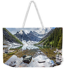 Lake Agnes Weekender Tote Bag