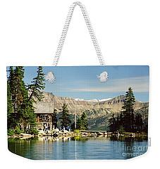 Lake Agnes Tea House Weekender Tote Bag