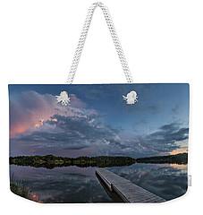 Lake Alvin Supercell Weekender Tote Bag