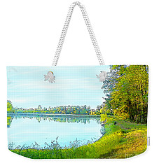 Lake And Woods Weekender Tote Bag