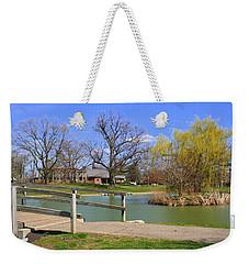 Lake At Schiller Park Weekender Tote Bag