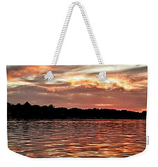 Lake Beulah Weekender Tote Bag by Nikki McInnes