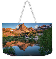 Lake Blanche At Sunset Weekender Tote Bag