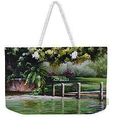 Lake Carroll Morning Weekender Tote Bag