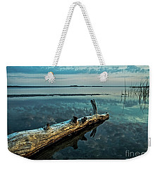 Lake Champlain Vermont - Serene Reflections Weekender Tote Bag