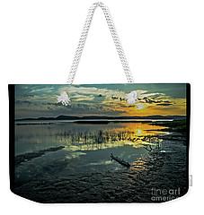 Lake Champlain Vermont Sunrise - 3 Landscape Weekender Tote Bag