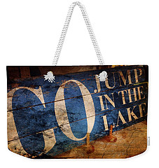 Lake Charm Weekender Tote Bag