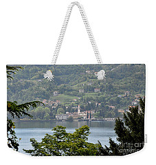 Lake Como View From Villa Carlotta Italy Weekender Tote Bag