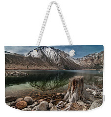 Lake Convict Tree Stump Weekender Tote Bag