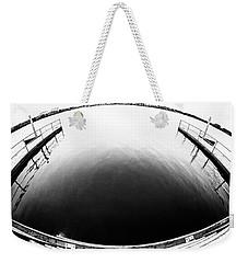 Lake Crabtree Fisheye Weekender Tote Bag by Wade Brooks