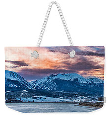 Weekender Tote Bag featuring the photograph Lake Dillon by Sebastian Musial
