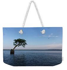 Lake Disston Cypress #2 Weekender Tote Bag by Paul Rebmann