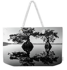 Lake Disston Old Couple Weekender Tote Bag