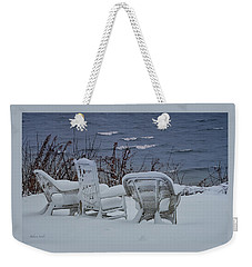 Lake Effect Weekender Tote Bag