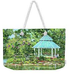 Lake Ella Gazebo Weekender Tote Bag